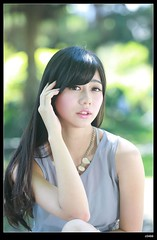 nEO_IMG_DP1U8073 (c0466art) Tags: light portrait cute beautiful female canon model eyes asia long legs sweet outdoor good large taiwan lips showgirl figure lovely pure  1dx c0466art