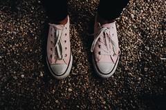 pinkFeet (.maique.) Tags: pink friends portugal fuji lisboa lisbon sneakers lookdown allstar russa oxi parquedasnacoes fujix classicchrome vscocam x100t