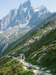Chamonix Mont Blanc (xc1427.fr) Tags: mountain france montagne alpes 35mm fuji hiking fujifilm savoie chamonix sentier montblanc   randonnee x100    excurse      fujix100s x100s fujifilmx100s