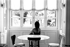 Second Thoughts For Breakfast (Joe[insanely]) Tags: portrait blackandwhite woman film lomography milano negative 400 biancoenero monocrome pentaxmx ladygrey