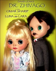 "Blythe-a-Day July #25 Medicine: Luna & Omar Sharif in ""Dr. Zhivago"""