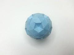 Simple Truncated Icosahedron (hyunrang) Tags: origami soccer simple icosahedron hur truncated