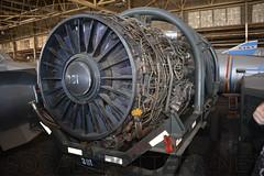 SR-71 Blackbird Engine (SoCalSpotters) Tags: atwater blackbird sr71 castleairmuseum kmer