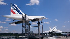 F-BVFB Concorde & CCCP-77112  Tupolev TU144 Sinsheim Technik Museum 16th July 2015 (2) (plumtimair) Tags: concorde technikmuseum sinsheim fbvfb tupolevtu144 cccp77112