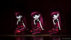 Light painting~ (MintyP.) Tags: light 6 painting doll live sony s wig groove pullip date 58mm custo helios merl nex kurumi obitsu tokisaki mintypullip elwyna
