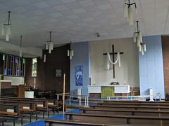 Risen Christ, Wyken (Aidan McRae Thomson) Tags: church modern contemporary interior coventry warwickshire wyken