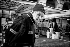 Winter is Coming (Steve Lundqvist) Tags: hat cappello hobo homeless poverty street streetphotography fujifilm x100s candid eyecontact shot old man poor walking winter elderly aged age people wise wisdom