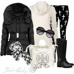 كولكشن أبيض وأسود رائع لفصل الشتاء (Arab.Lady) Tags: كولكشن أبيض وأسود رائع لفصل الشتاء