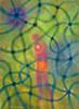 Streams beams 2 (Jos van Wunnik) Tags: art painting watercolour jos van wunnik ethereal nature energetic