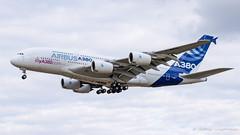 A380 Airbus F-WWDD msn 004 (Mav'31) Tags: 50150mmf28 airplane airport aéroport blagnac d5100 jéromevinçonneau lfbo mav31 nikon plane spotter spotting tls toulouse aircraft avgeek avion a380 airbus fwwdd msn 004 a380800 a388 a380861 prototype