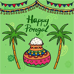 free vector Happy Pongal Day With Rice Pot Background (cgvector) Tags: agriculture animal asian barley cane card cattle celebration cow culture decoration earthen editable ethnic family farm farmer festival flower food fruit grain greeting happy harvest hindu holiday illustration indian kalash kollam makar plant pongal pot prosperity rangoli religious rice sankranti south sugarcane sun tradition traditional vacation vector wheat