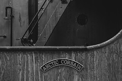 Arctic Corsair (Tom Shearsmith Photography) Tags: hdr tone tonemap photography photoshop photo bw monochrome architecture arch artefact ship city citycentre culture contrast centre hull humber humberside aquatics abstract art water grain