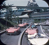 Tomorrowland Reel 2, #3b - Monorail Crosses the Autopia Freeways (Tom Simpson) Tags: viewmaster slide vintage disney disneyland 1960s vintagedisney vintagedisneyland