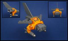 The Nexion Interceptor (Karf Oohlu) Tags: lego moc microscale microspacetopia scfi starfighter spaceship