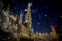 Brussels - grote markt - evening (thanks for visiting my page) Tags: brussel grotemarkt kerst 2017 bertmeijers bmeijers