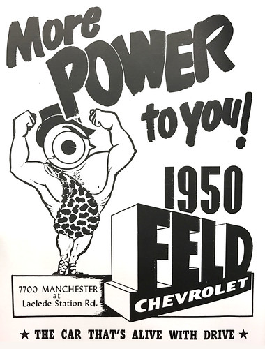 1950 yearbook ad