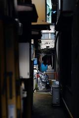裏にあるコト (萬名 游鯏(ヨロズナ) / Yorozuna) Tags: pentaxautotakumar55mmf18 横浜中華街 横濱中華街 中華街 元町・中華街 横浜 yokohamachinatown chinatown yokohama 神奈川県 kanagawa japan 路地 alley alleyway 裏路地 路地裏 backalley 通路