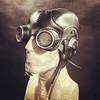 Aviator helmet with goggles custom order done. More pictures tomorrow. #Cyberpunk #CyberGoth #postapocalyptic #postapocalypse #steampunk #steampunkmask #leathermask #handmade #LARP #dieselpunk #leather #Darkart #costume #larping #gasmask #aviatorgoggles # (tovlade) Tags: face mask cyberpunk cyber goth make up goggles girl punk postapocalyptic postapocalypse black steampunk leather hand made larp cybergoth dieselpunk plague doctor