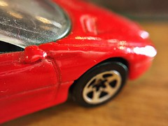 Inspired by a song (veronikellymars) Tags: macromondays inspiredbyasong prince hotwheels car toy red