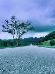 Paradise Road (Wenchieh Yang) Tags: trip wow taiwan iphone iphone365 clouds 2016 road light sun sky green hualien welovetaiwan 愛台灣 landscape 花蓮 台灣 山 greatesttphotographers