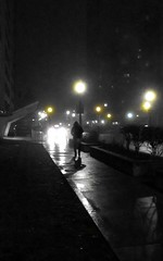 Night lights (siong.lewis) Tags: urbanphotography urban night fog dark streetscape cityscape toronto