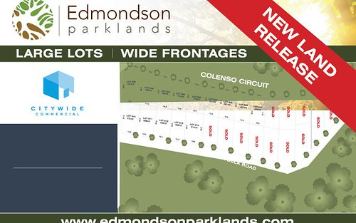 Lot 301 Colenso circuit, Edmondson Park NSW 2174