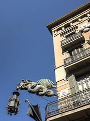 Umbrella Factory.Web (HelenBushe) Tags: umbrella shop barcelona casabrunocuadros lasramblas