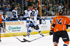 "Missouri Mavericks vs. Wichita Thunder, February 3, 2017, Silverstein Eye Centers Arena, Independence, Missouri.  Photo: John Howe / Howe Creative Photography • <a style=""font-size:0.8em;"" href=""http://www.flickr.com/photos/134016632@N02/32561320722/"" target=""_blank"">View on Flickr</a>"
