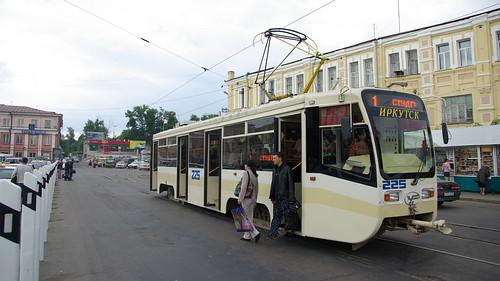 Irkutsk tram 71-619KT 225 ©  trolleway