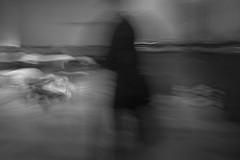 A Man Dressed in Black -Photo Healing Performance- (Mexico City. Gustavo Thomas © 2016) (Gustavo Thomas) Tags: photohealing photography movement blurred movimiento blackandwhite blancoynegro monochrome monocromático bnw performance mexicocity exteresaarteactual arte art borroso blur