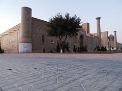 Registan Square, Samarkand, June 2015 (leonyaakov) Tags: summer museum ceramic minaret muslim religion ceremony mosque unesco promenade uzbekistan samarkand citycenter sunnyday citytour ouzbekistan greatphotographers   nikonflickraward