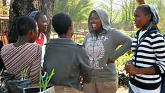 Orphaned & vulnerable kids from Moya Centre, August 2012