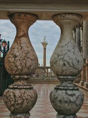 Saint George and the dragon (v923z) Tags: venice italy statue belltower column saintgeorge sangiorgio baluster