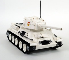 T34-85 WWII Soviet tank (LegoMarat) Tags: tank lego wwii rc scalemodel t34 legotechnic powerfunctions sbrick