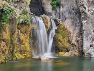 Waterfall in Pigna