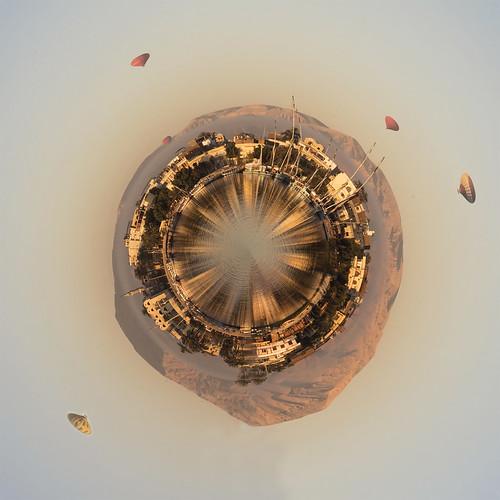 Luxor Tiny Planet