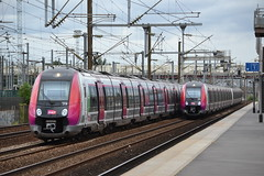 SNCF Transilien 21H 50041 - 50042 & 67H 50133 - 50134 (Will Swain) Tags: travel paris france st train de french europe transport july rail railway des railways franais 8th stade denis socit parisian fer sncf nationale transilien 2015 chemins 21h 50041 50042 50133 50134 z50000 67h