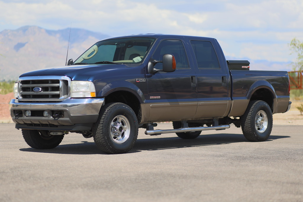 2003 Ford F250 Lariat 4x4 Diesel Truck For Sale
