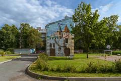 St. Petersburg, fairytale castle (nikolaeffvs) Tags: castle zeiss graffiti petersburg carl distagont224