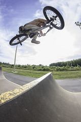 Tomislav Radi | Euro table (Marin Lonar) Tags: summer sport clouds canon table bmx europe extreme osijek croatia fisheye skatepark spine 8mm challenge extremesport hrvatska t3i drava slavonija miniramp 600d rokinon pannonian