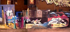 Por la Memoria y los Sueños vivos de un kiltro (Felipe Smides) Tags: chile santiago mural pintura oficio muralismo érico kiltro puentealto smides felipesmides bajosdemena