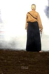 Last Woman Standing (Wild West Days in Viroqua, WI 08/16/2014 8:34p.m.) (Craig Walkowicz) Tags: woman wisconsin gun smoke western wildwest shootout oldwest ccw viroqua wildwestdays