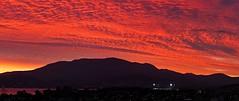 Sunset delight (Tewbacca) Tags: sunset tasmania hobart mtwellington redclouds