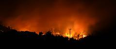 IMG_0377 (joaopedrodias) Tags: red wild black portugal broken nature night canon fire eos death die sad earth smoke porto wildfire amarante 450d travanca