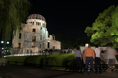 Atomic Bomb Dome by night 3