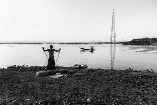 An Urban Fisherman