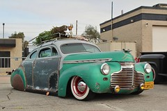 Mooneyes X-Mas Party 2016 (USautos98) Tags: 1941 chevrolet chevy specialdeluxe leadsled hotrod streetrod kustom