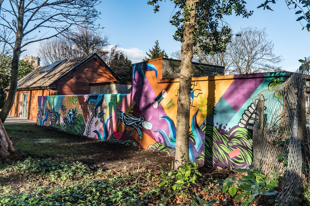 NEW STREET ART AND NEW TEAROOMS [HERBERT PARK DUBLIN]-124060