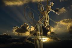 Wolkenballerina (lotharmeyer) Tags: sky himmel wolken tanz ballerina design impression licht natur