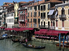 venice (gerben more) Tags: venice venetië italy gondol boat water canal houses building